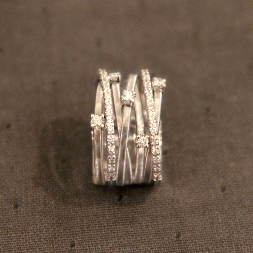bague marco bicego goa or blanc diamants david mann