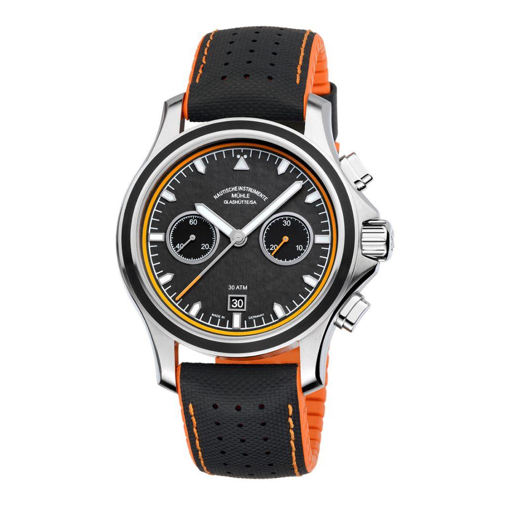 Montre Mühle Glashütte ProMare Chronograph disponible chez David Mann
