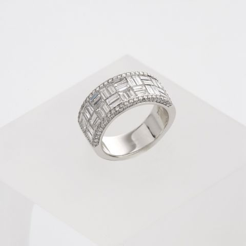 bague hulchi belluni or blanc diamants large