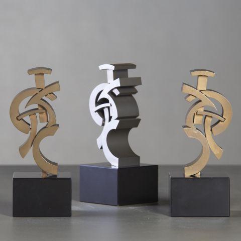 sculpture création david mann