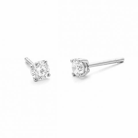 Boucles d'oreilles Facet en diamants 1 carat